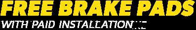 Free Brake Pads