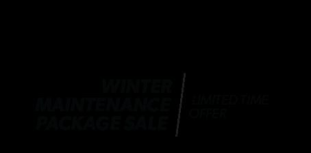 Winter Maintenance Package