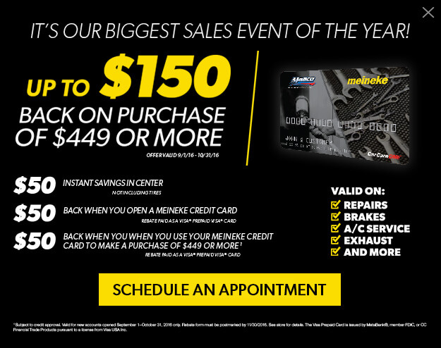 meineke offer id mobile