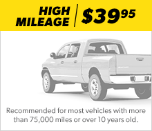 High Mileage Oil Change Bryan Brown