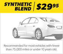 Synthetic Blend Oil Change Bryan Brown