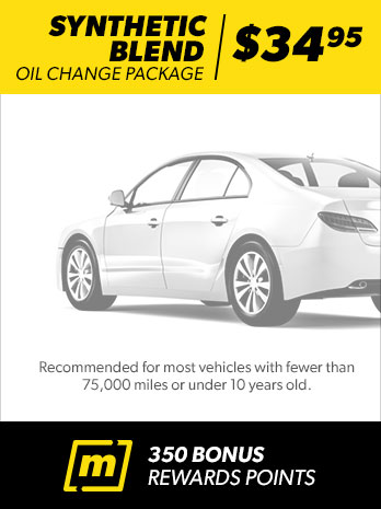 Oil Change Package Synthetic Blend