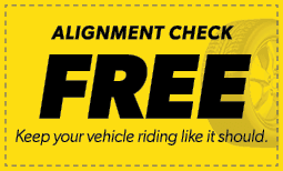 Free Alignment Check Coupon