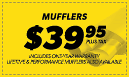 $39.95 Mufflers Coupon