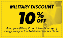 10% Military Discount Coupon
