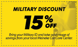 15% Military Discount Coupon