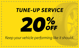 20% Off Tune-Up Service Coupon