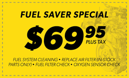 $69.95 Fuel Saver Special Coupon