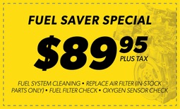 $89.95 Fuel Saver Special Coupon