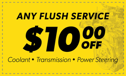 $10 Off Any Flush Service Coupon