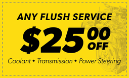 $25 Off Any Flush Service Coupon