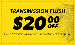 $20.00 Off Transmission Flush Coupon