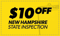 $10 Off New Hampshire State Inspection