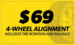 $69 4-Wheel Alignment