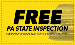 Free Pennsylvania State Inspection