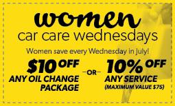 Women's Car Care Wednesday Full