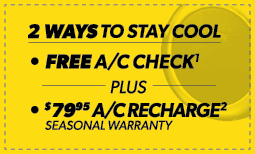 2 Ways to Stay Cool Coupon