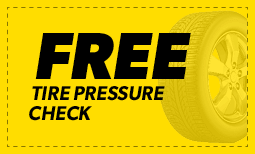 Free Tire Pressure Check Coupon