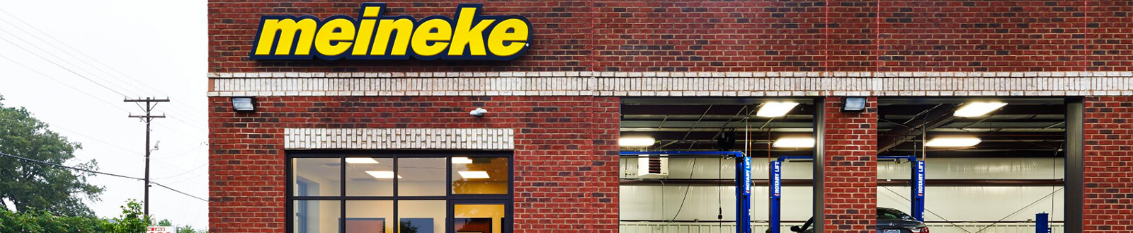 Meineke shop's front