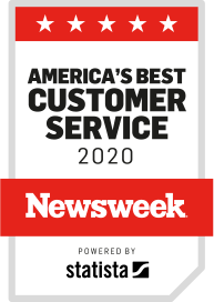 America's best customer service badge