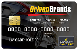 Meineke Driven Brands Visa