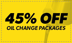 Meineke 45th Anniversary: 45% off Oil Changes Coupon