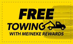 "Free Towing – ""Free Towing when you sign up for Meineke Rewards"" Coupon"