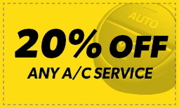 20% Off ANY A/C Service Coupon