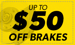 Up To $50 off Brakes Coupon
