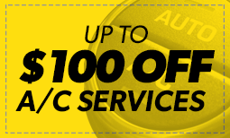 Up to $100 Off A/C Services Coupon