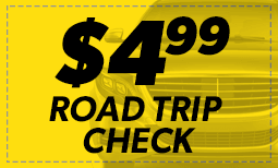 $4.99 Road Trip Check Coupon