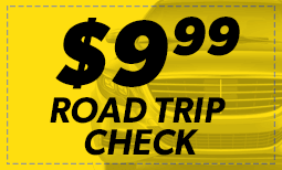 $9.99 Road Trip Check Coupon