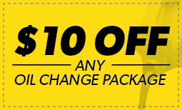 $10 Off Any Oil Change Coupon
