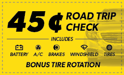 $0.45 Road Trip Check Coupon