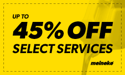 45% off Select Services Coupon