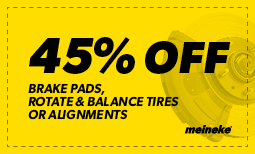 45% off Brake Pads & Balance Tires Coupon