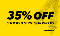 35% off Shocks & Struts Coupon
