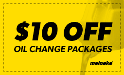 $10 Off Oil Change Packages Coupon