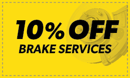 10% off Brake Services Coupon