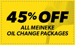 45% off All Oil Change Packages Coupon