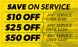 Save on Service! Coupon
