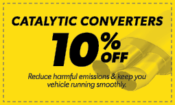 10% Off Catalytic Converters Coupon