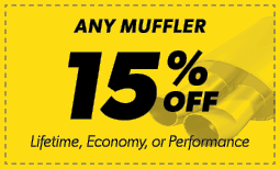 15% Off Any Muffler Coupon