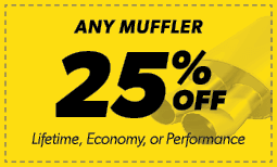 25% Off Any Muffler Coupon