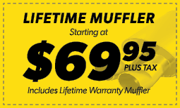 $69.95 Lifetime Muffler Coupon