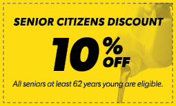 10% Senior Citizens Discount Coupon