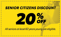 20% Senior Citizens Discount Coupon