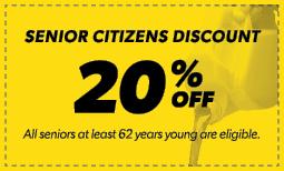 20% Senior Citizens Discount Coupon