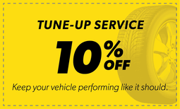 10% Off Tune-Up Service Coupon