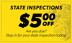 $5.00 Off State Inspections Coupon